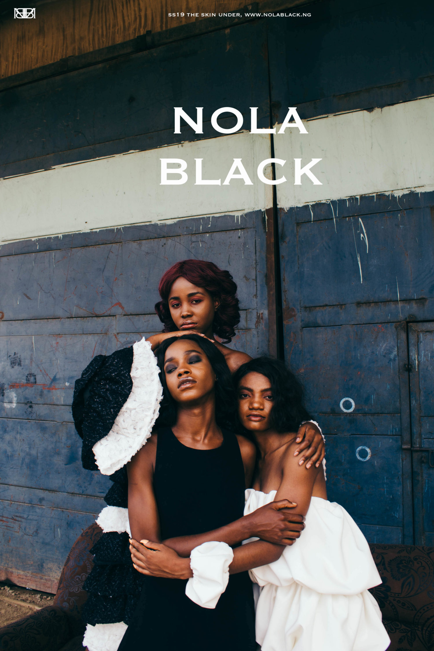 "You and Your #GirlGang Will Love Nola Black's ""The Skin Under"" Lookbook"
