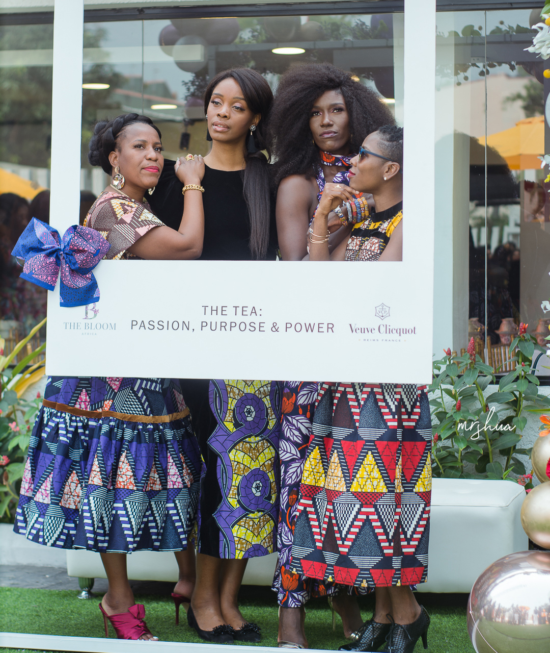 "Inside The Bloom Africa Launch : ""Passion, Purpose and Power"" Tea with Luvvie Ajayi, Funa Maduka, Justina Omokhua and Bozoma Saint-John"