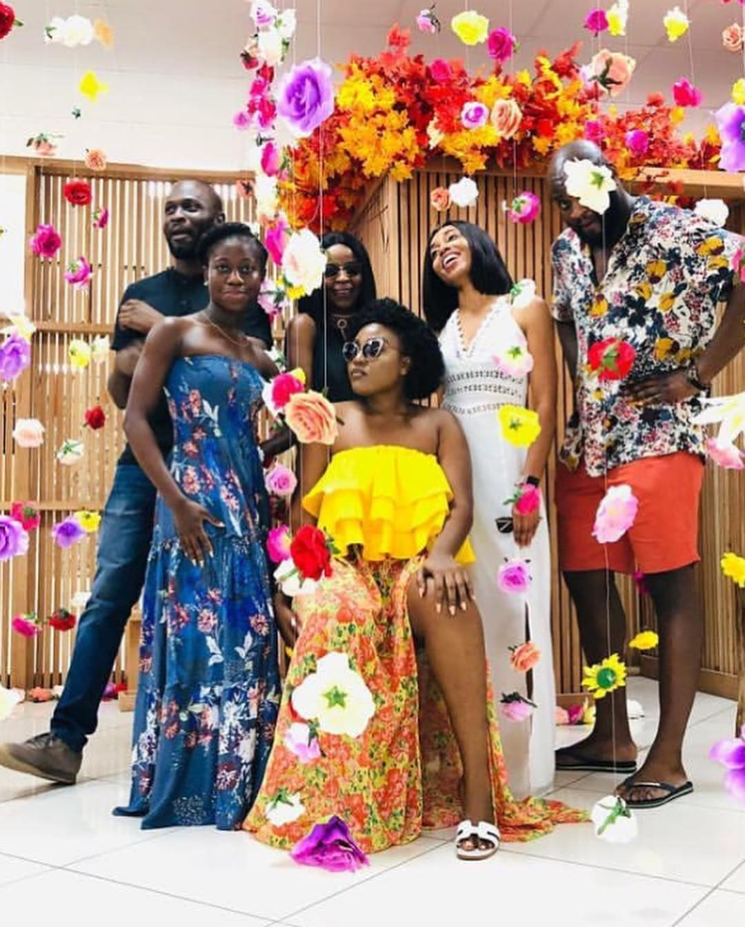 ICYMI: The Accra It-Crowd Came Out to Experience VForVanity's Immersive Art Installation At Mhoseenu Design Studio