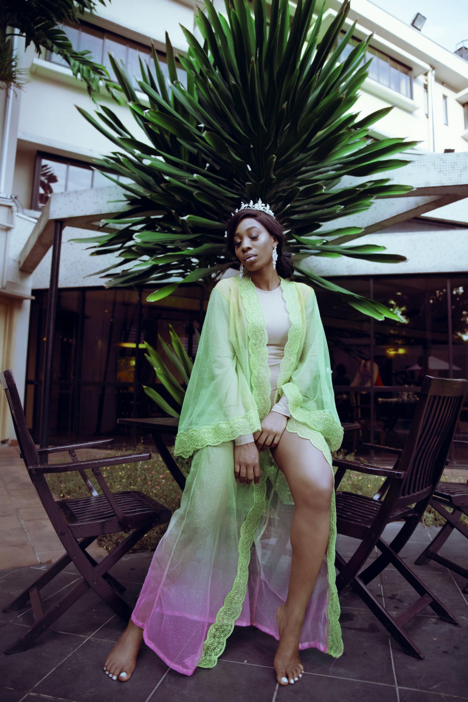 Abebi By Tan Makes a Strong Case for the Bridal Kimono Trend