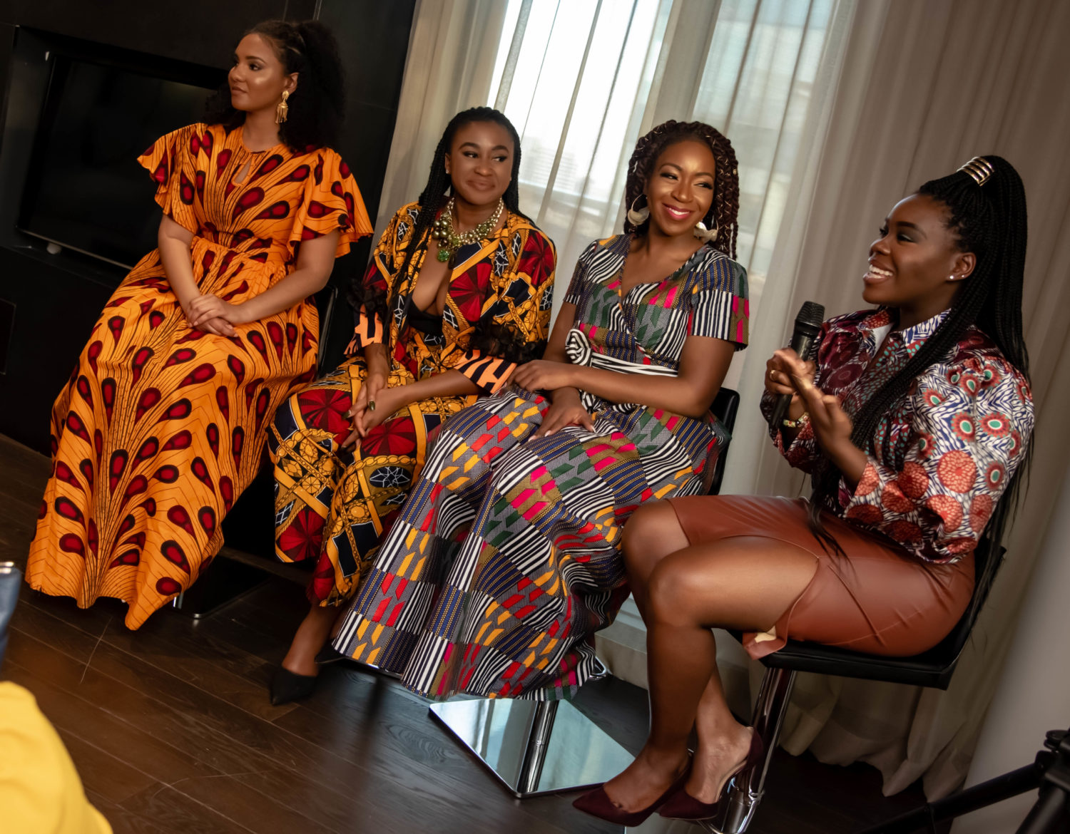 DMV's Young, Black & Beautiful Flocked to the First Afro Beauty Brunch For A Day of Pampering & Learning
