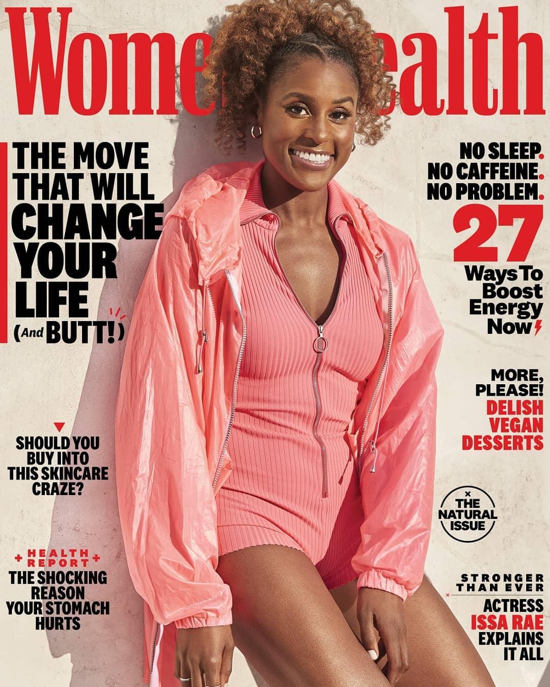 Image result for issa rae women's health magazine
