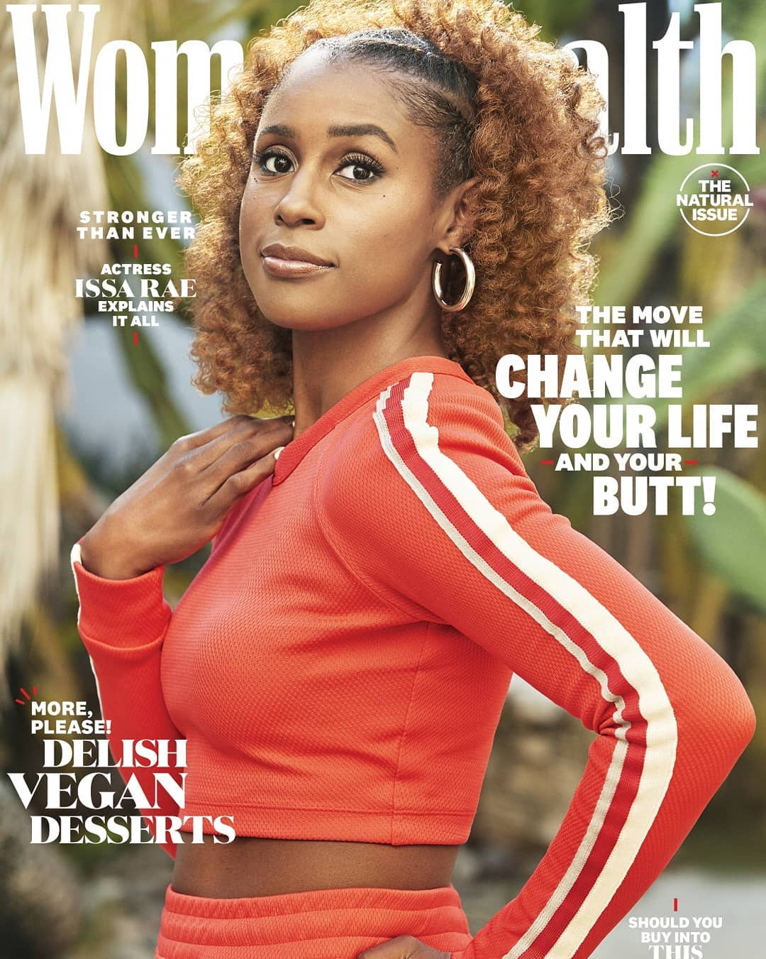 Issa Rae Is #BodyGoals As She Covers Women's Health Magazine's New Issue!