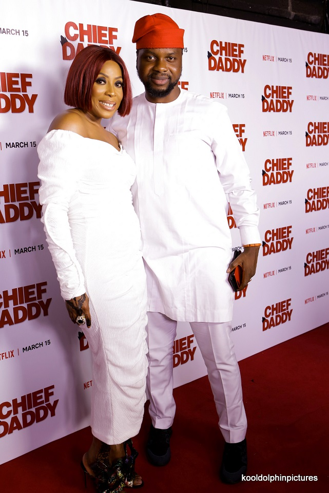 "SEE NOW: The Best Red Carpet Looks At EbonyLife's ""Chief Daddy"" Netflix Party"