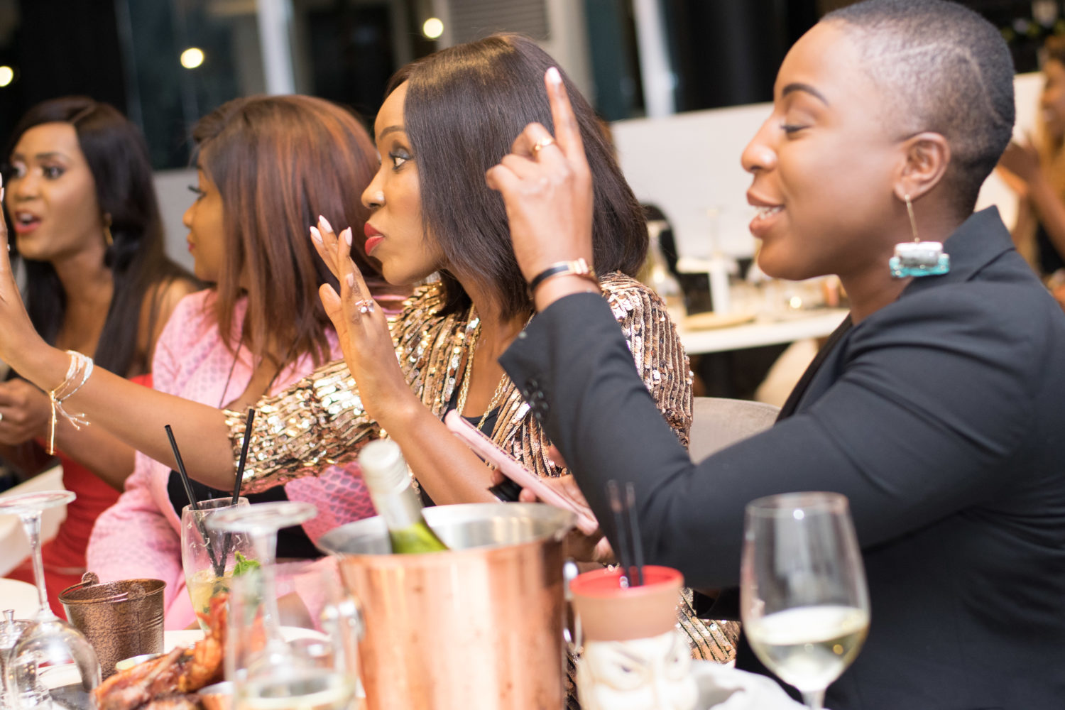 Inside Arese Ugwu's Fabulous Birthday Bash At Circa Non Pareil