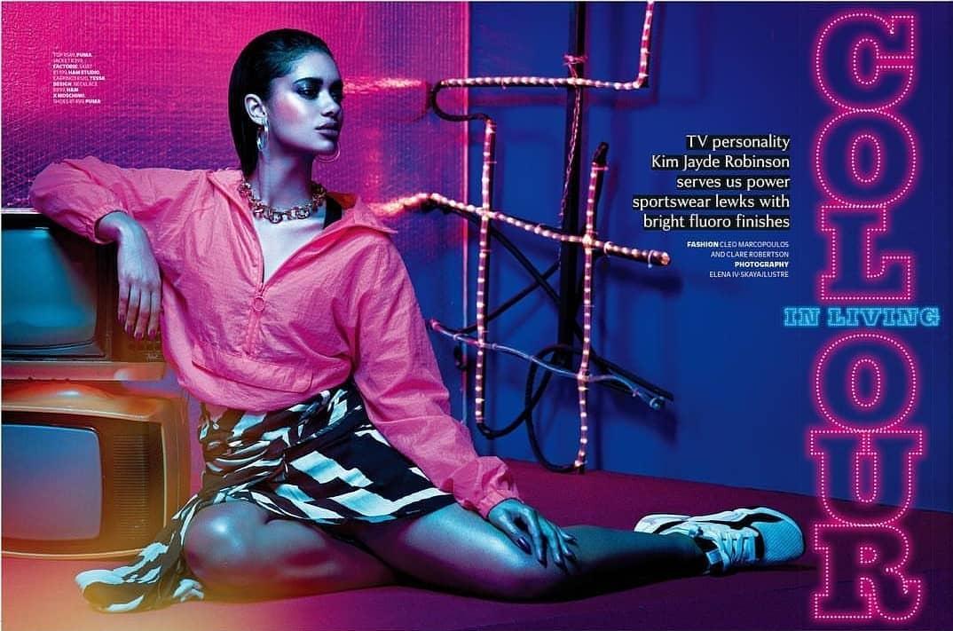 Peep Kim Jayde Robinson's Breathtaking Spread for Cosmopolitan South Africa