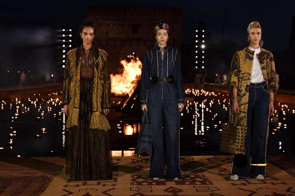 Dior Is Inspired by Morocco for Its Cruise 2020 Show