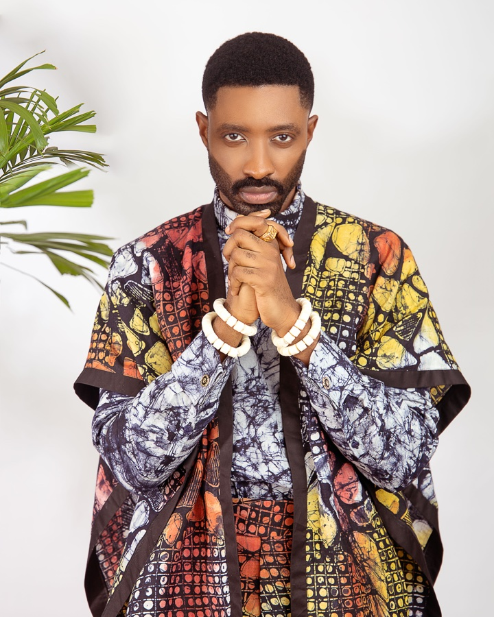 Ric Hassani x Patrickslim Just Took Traditional Adire Fabric To A 2019 Level – It's A Whole Vibe!