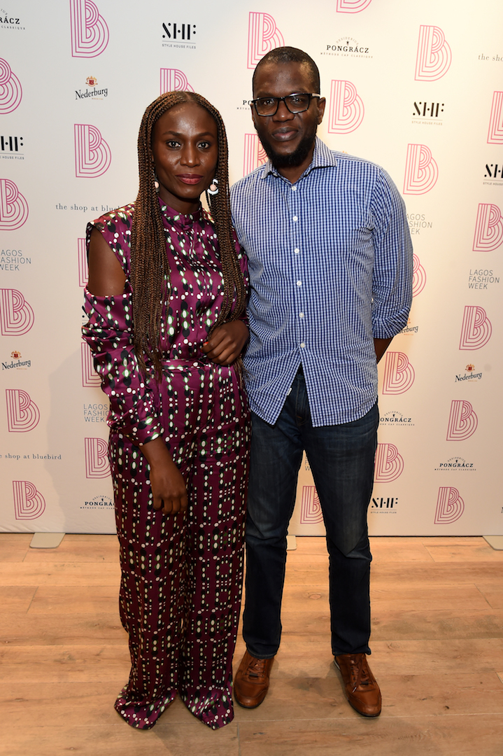 "Inside The Lagos Fashion Week ""Between Us"" Launch at The Shop at Bluebird London"