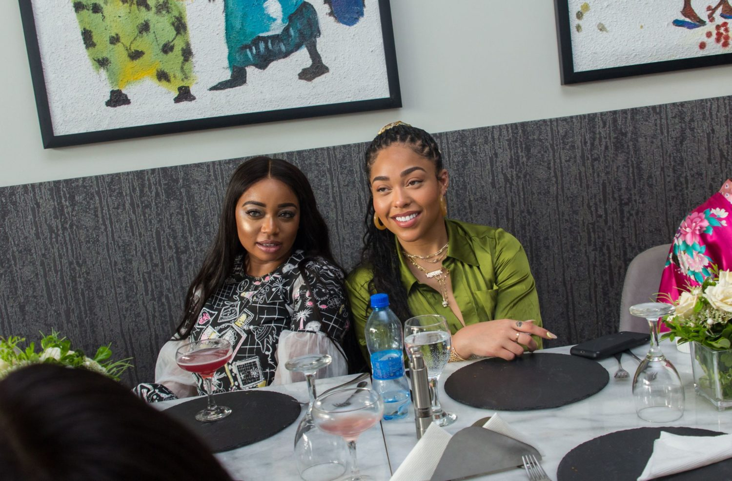 Inside The Dainty YSL Beauty Brunch hosted by Jordyn Woods In Lagos!
