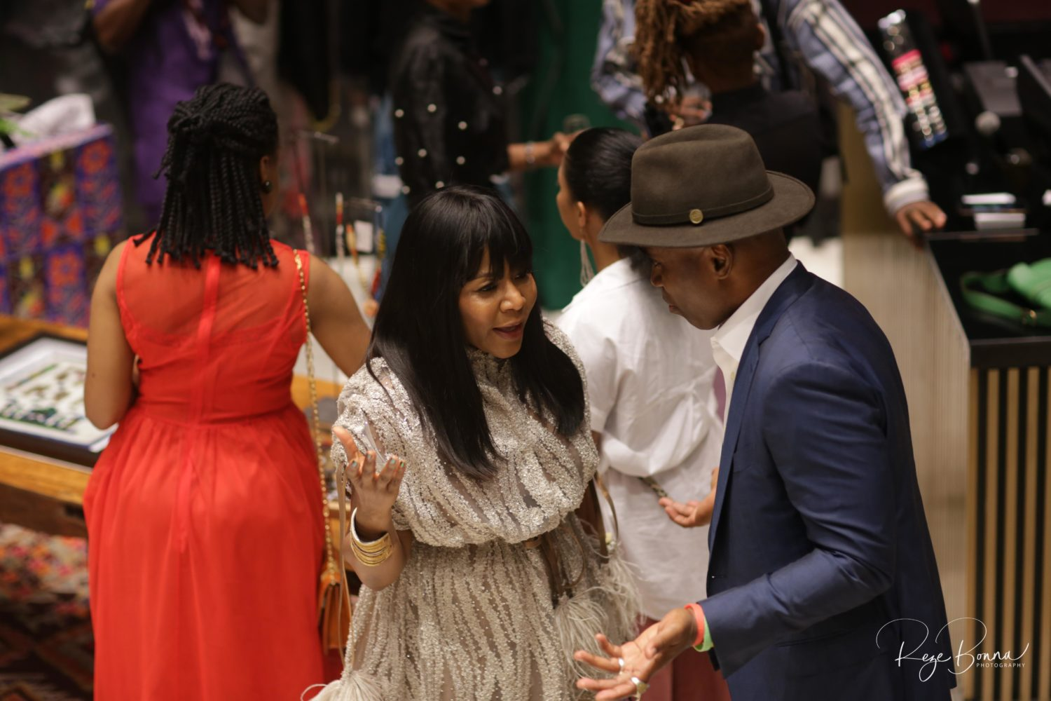 A Fashionable Crowd Came Out to Naomi Campbell's Welcome Party at Alara