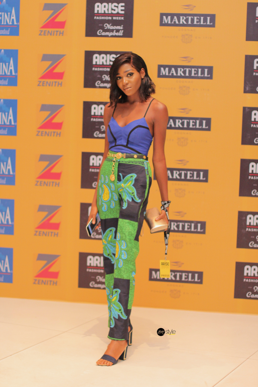 #BNSAFW19: Check Out the Stylish Guests from Day 1 of Arise Fashion Week 2019