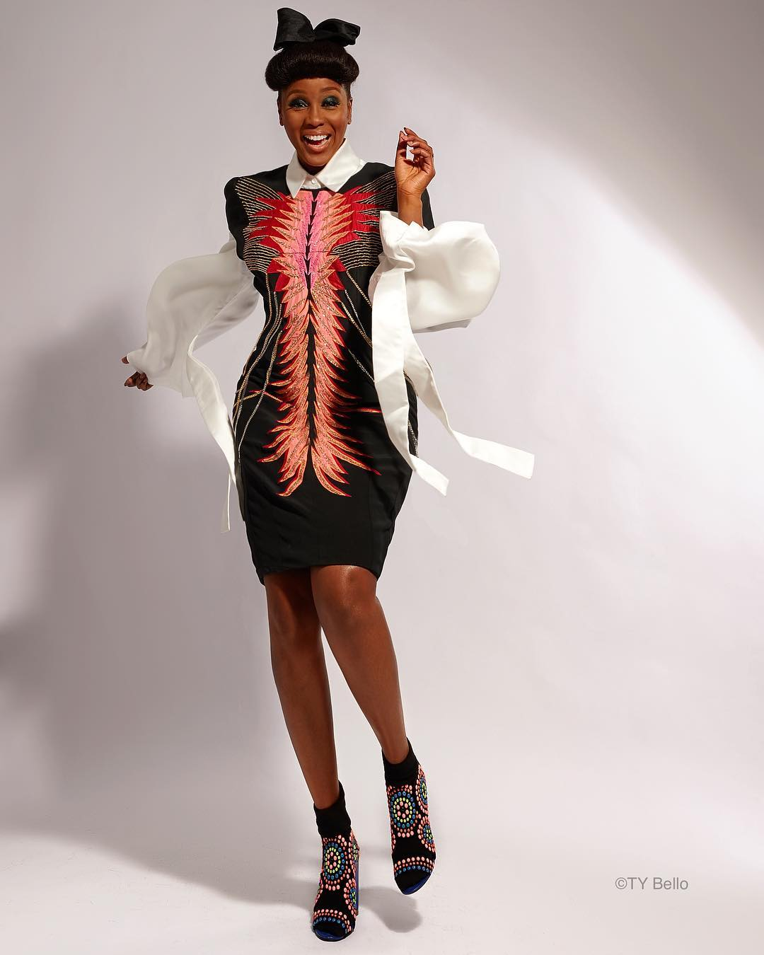 StyleSociety Didi Akinyelure is Stunning in New TY Bello Lensed Images | BN  Style