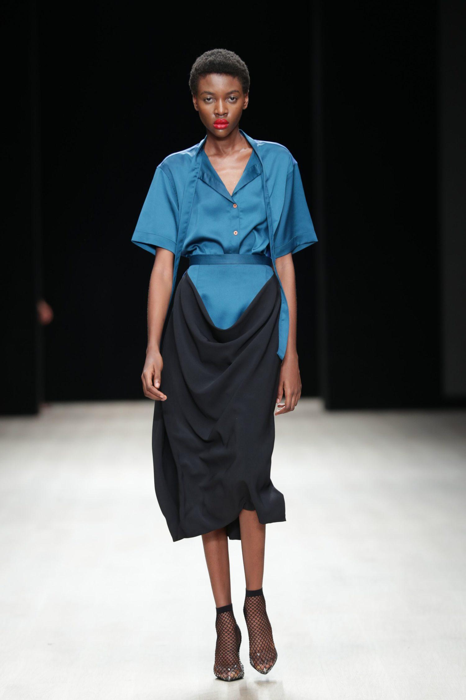 ARISE Fashion Week 2019   Gozel Green