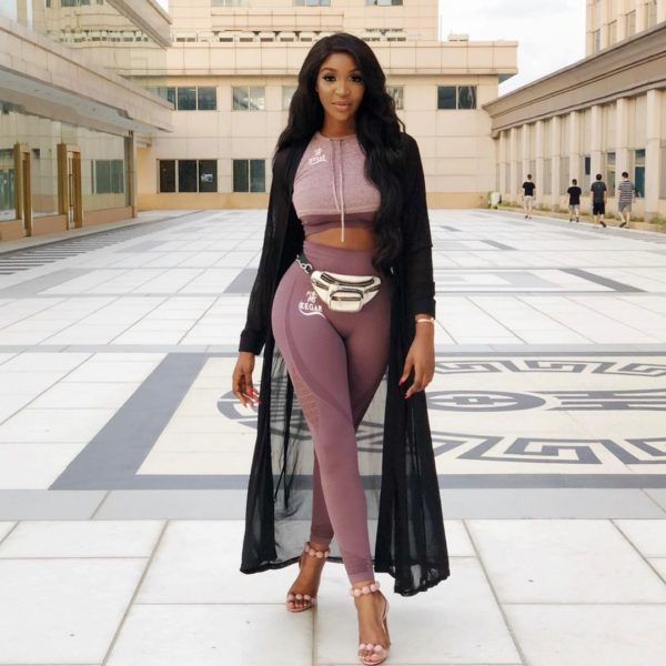 Idia Aisien Shows us the Stylish Way To Rock Sweatpants