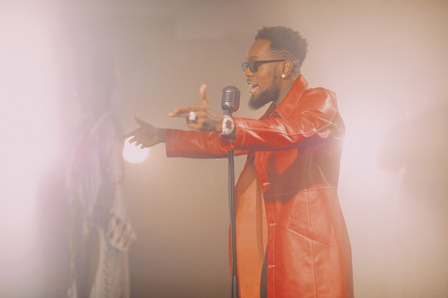 Exclusive:  Behind-The-Scenes Of Patoranking's Super Stylish Lenge Lenge Video