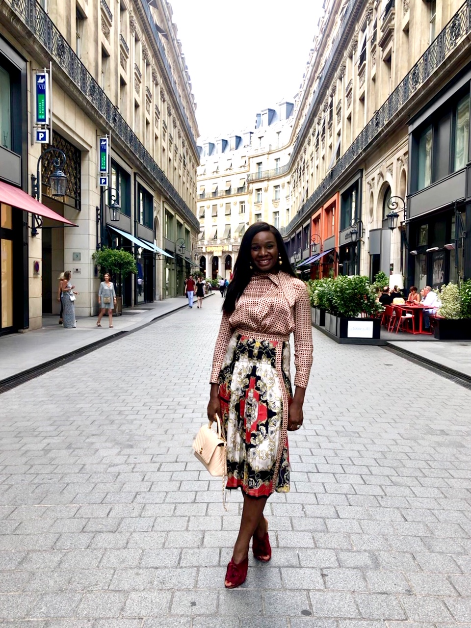 Solved: What An Oil & Gas Boss Babe Wears to a Work Conference in Paris