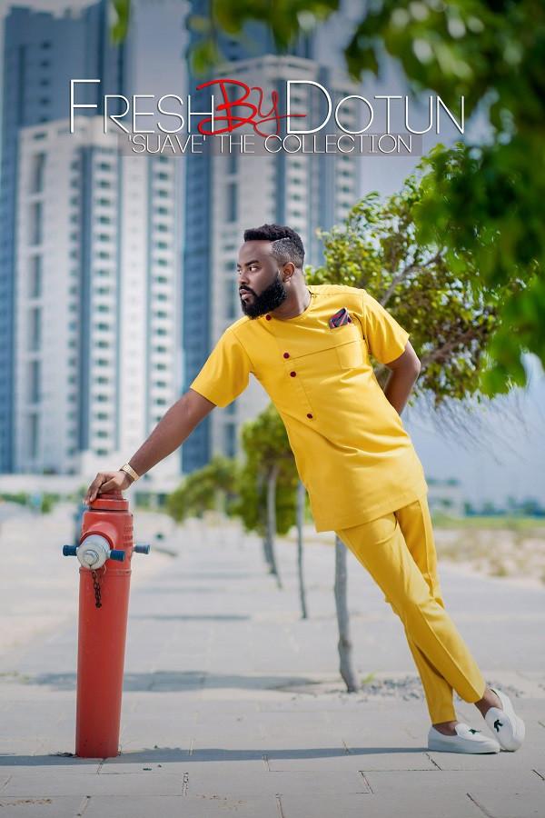 "FreshbyDotun's ""Suave"" Lookbook features Media Personalities VJ Adams & Jagpreet Dadiala"