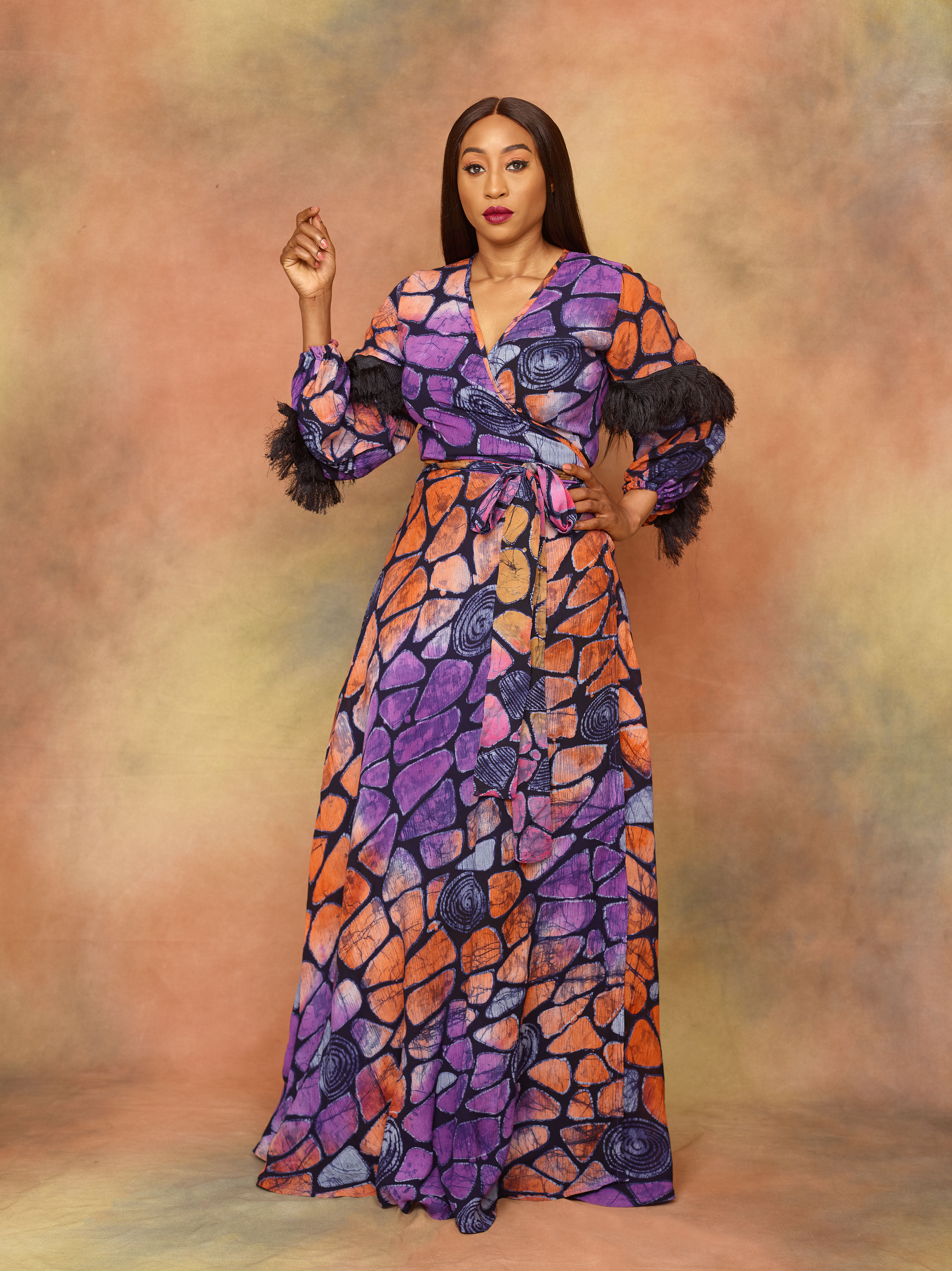 Veronica Odeka Stars in Funke Adepoju's Latest Collection Campaign for the Adunni Capsule Collection