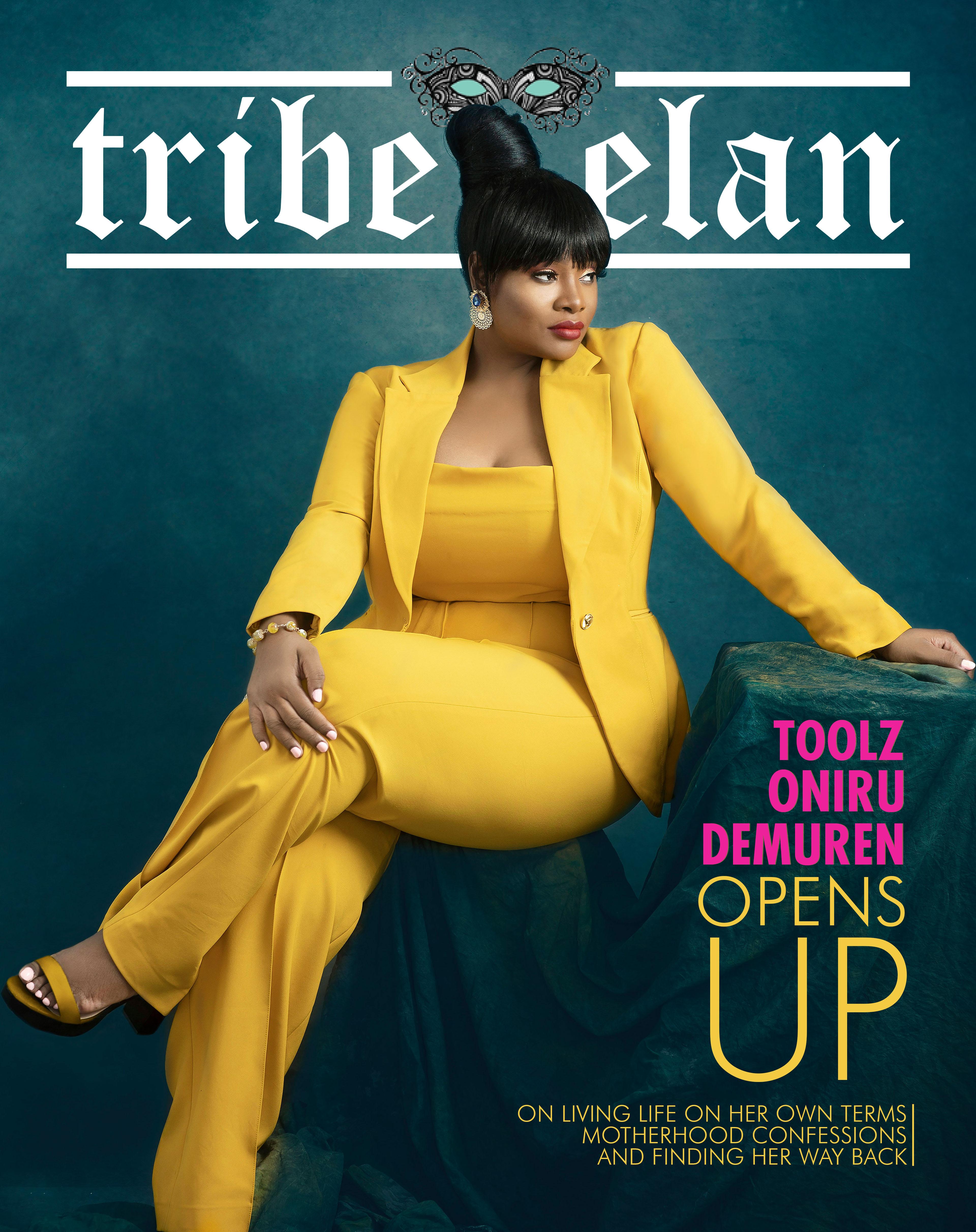 Toolz Oniru-Demuren shines on Tribe & Elan Magazine's New Issue