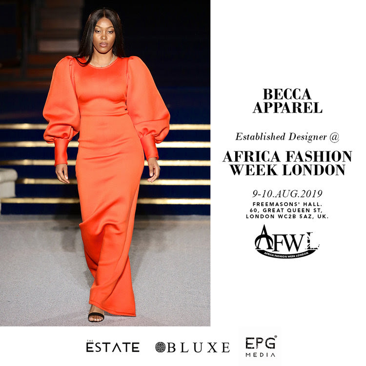 Countdown To Africa Fashion Week London 2019 Meet The Designers Here Bn Style