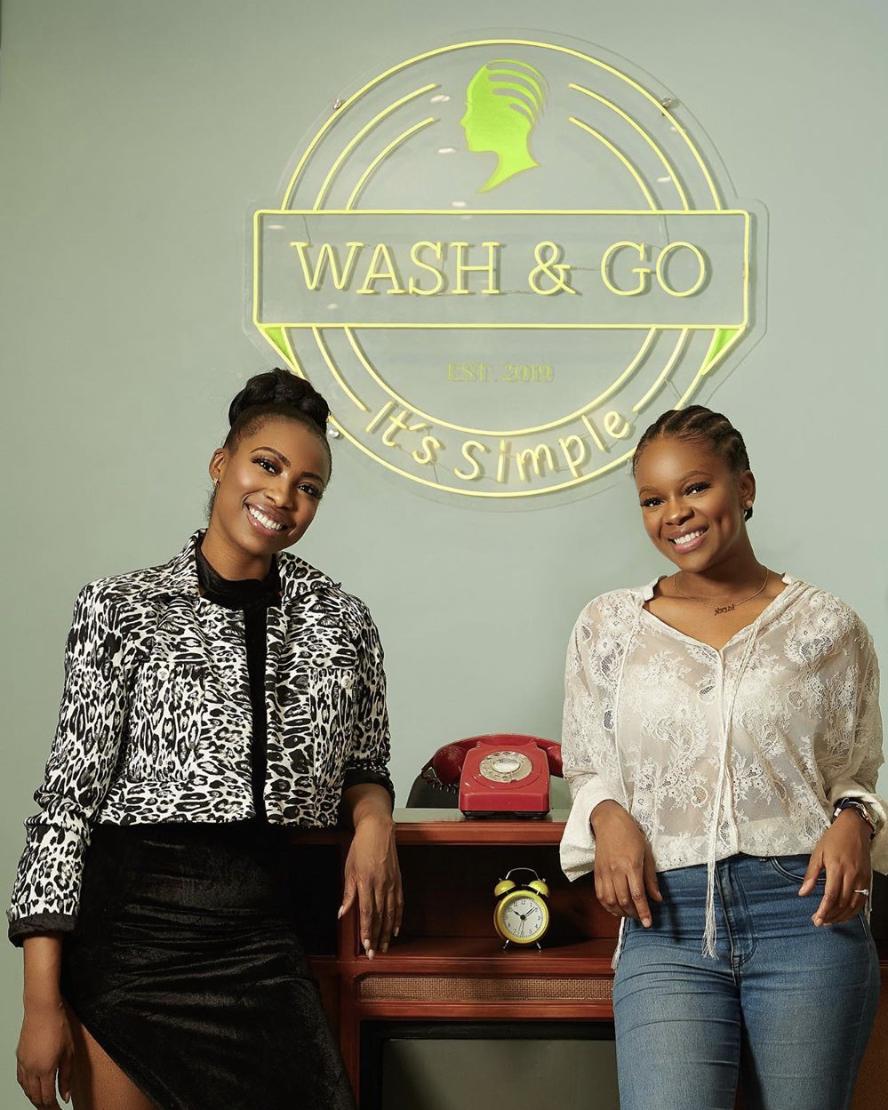 Toni Tones, Linda Ejiofor, Chef Fregz & More Attend the Wash & Go Hair Salon Launch Party