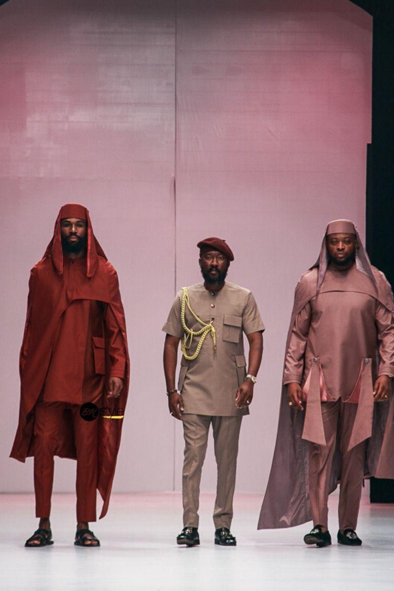 Lagos Fashion Week 2019 Ugo Monye Bn Style