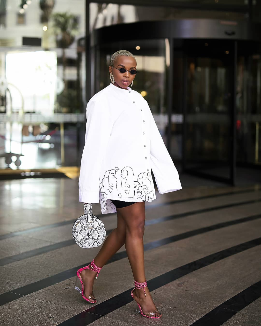 Thanks Joy Kendi! This Is How to Style Double Snakeskin in The Most Effortless Way
