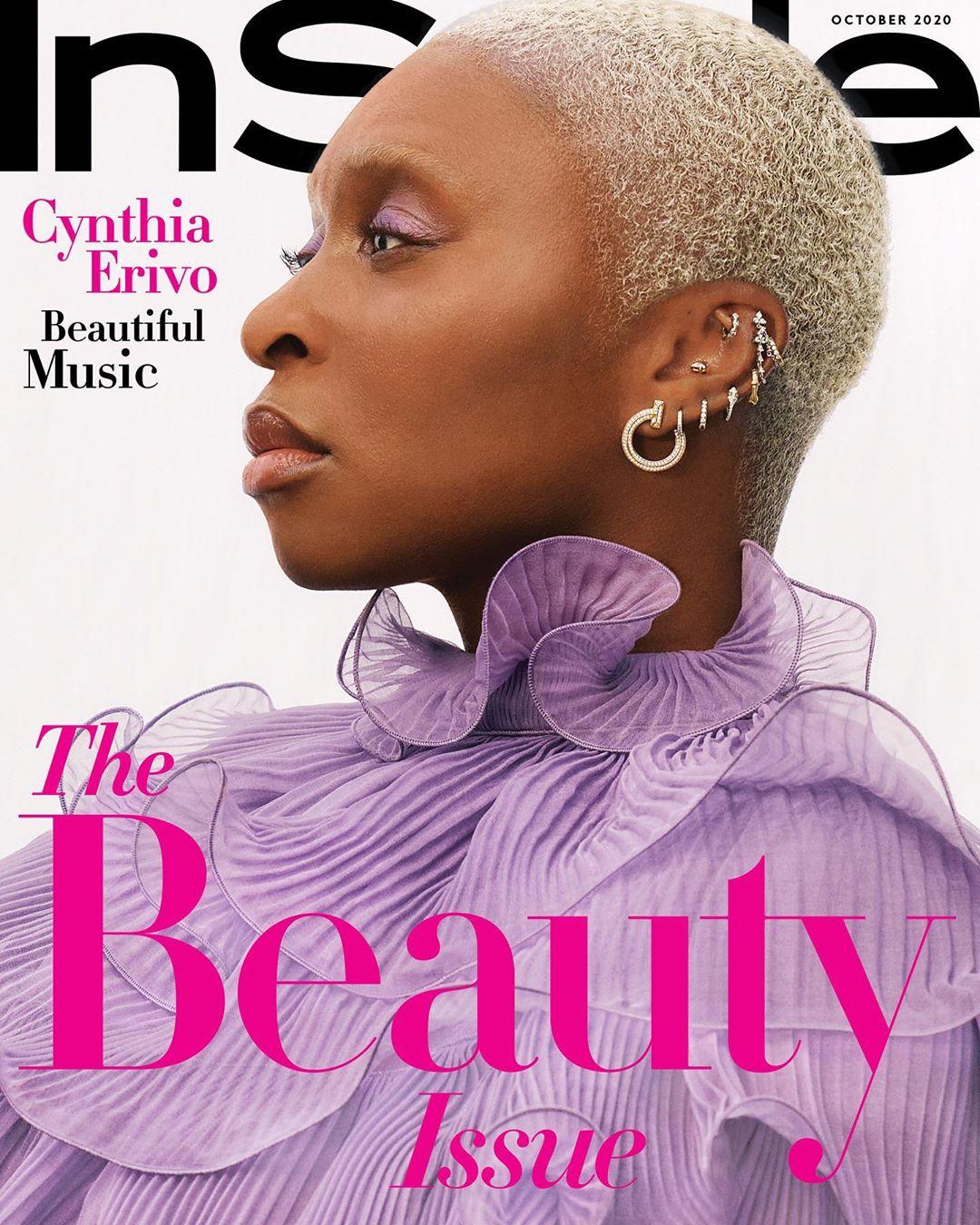 0Cynthia Erivo InStyle Magazine