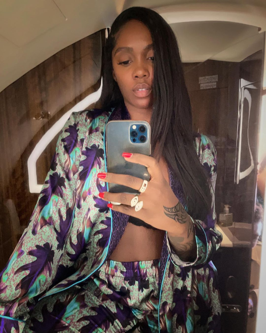Check out Tiwa Savage's Easy Chic Travel Sty... Image